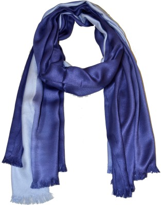 COURTLY LOVE Solid Viscose Satin Women's Stole