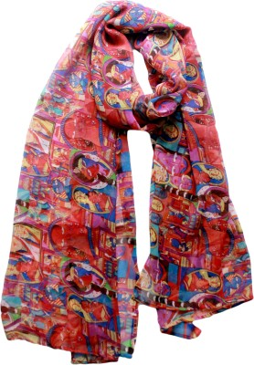 MAGA Printed Georgette Women's Stole