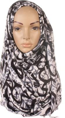 Muslimkart Graphic Print Silk Viscose Women's Scarf