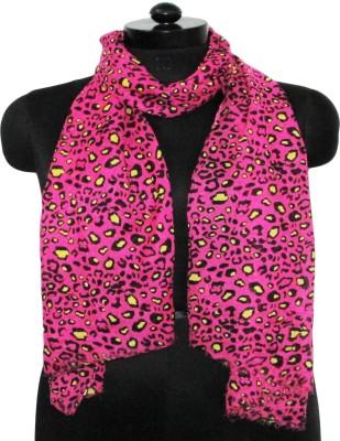 Sunsilk Enterprises Animal Print Poly Cotton Women's Stole