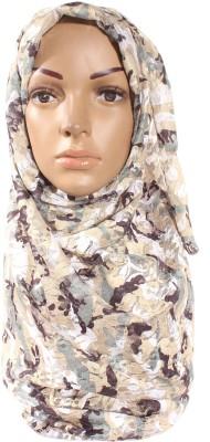 Muslimkart Polka Print Polyster Women's Scarf