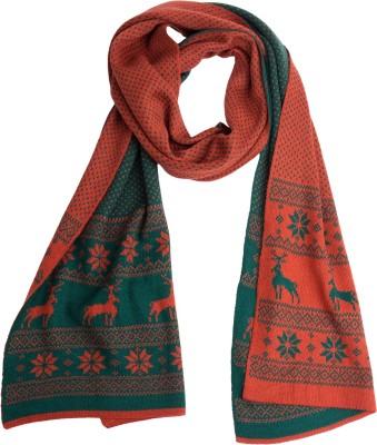 Colors Printed Wool Women's Scarf