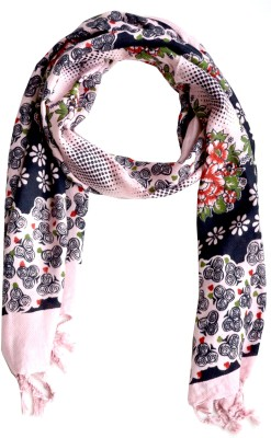 Aarti Collections Floral Print Viscose Women's Stole