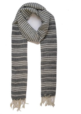 Add to Style Striped Cotton Women's Scarf