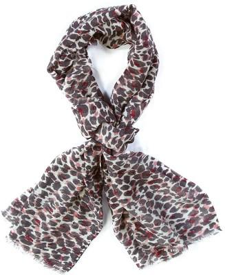 ADSA Animal Print Pure Wool Women's Stole