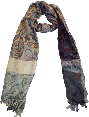 Mode Printed Silk Women's Stole