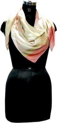 Selfiwear Embellished Silk Women's Scarf