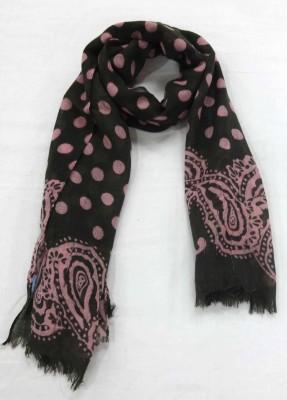 Polipilla Polka Print 100% Wool Women's Scarf