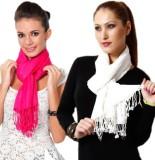 Shrayst Fashion Solid Viscose Women's St...