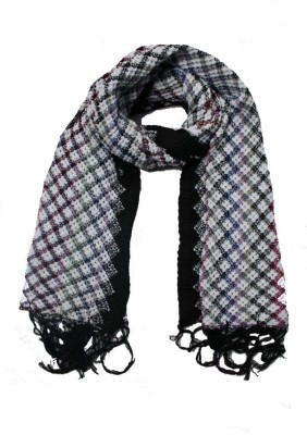 AS42 Checkered Wool Women's Stole