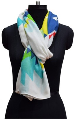 Quilt Solid VISCOSE Women's Stole