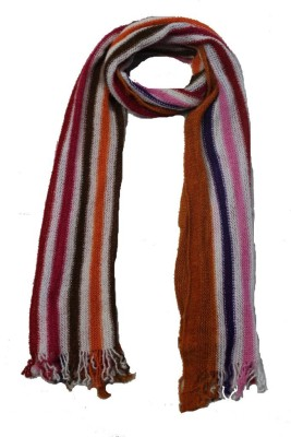 AS42 Striped Wool Women's Stole