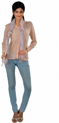 LIYANA Striped Linen Women,s