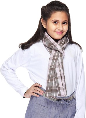 Citypret Checkered Cotton Girl's Scarf