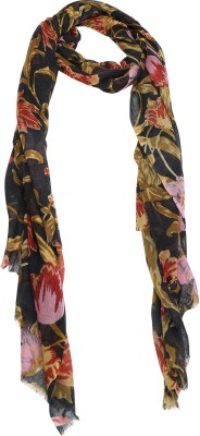 Cashmere Craft Floral Print Wool Women,s