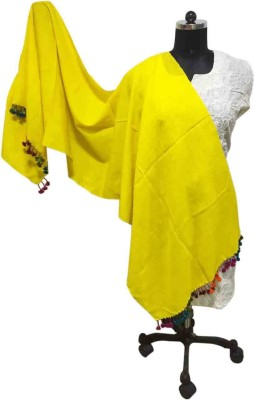 Toygully Solid Woolen Girl,s, Women's Stole