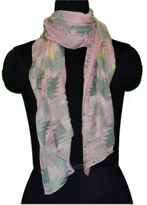 COURTLY LOVE Printed VISCOSE Women's Stole