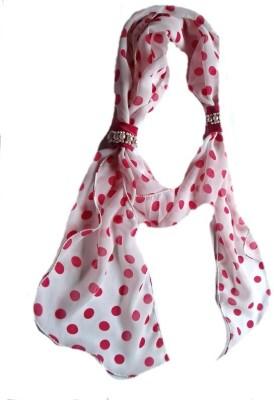 Reshu Polka Print Gorgette Women's Scarf
