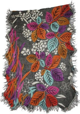 Shawls Of India Woven, Embellished Wool Women's Stole