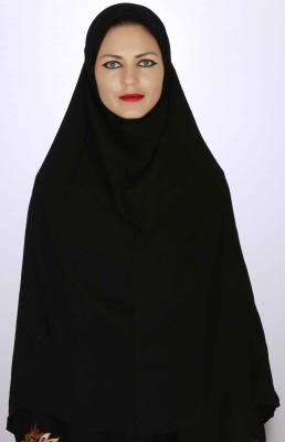 Islamic Attire Solid Cotton Blend Women's Scarf