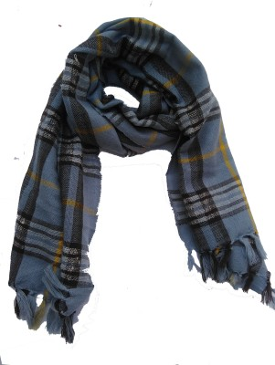 Lotusa Solid Wool Men's Scarf
