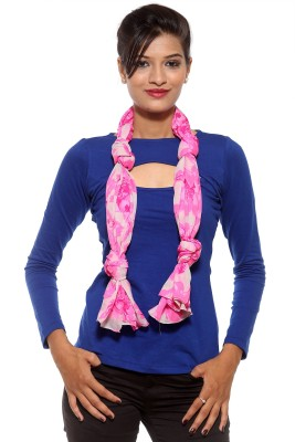 Covetindia Floral Print Cotton Womens Stole