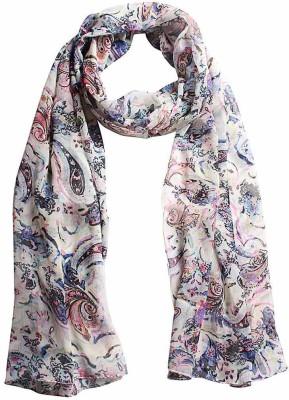 DIVAS CHOICE Geometric Print polyester Women's Stole