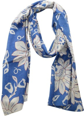 Dushaalaa Floral Print Coton Womens Scarf