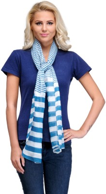 Kiosha Striped Cotton Blend Women's Stole
