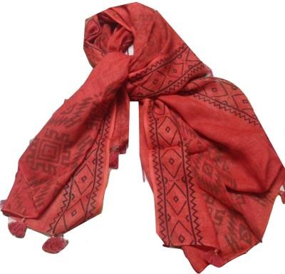 KaSikh Printed Cotton, Linen Women's Stole