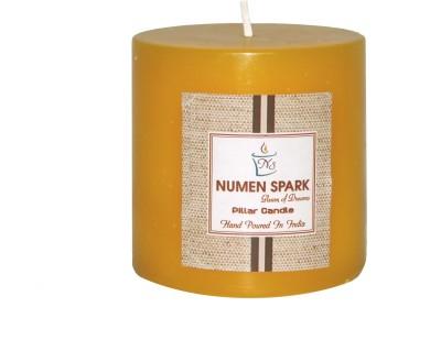 Numen Spark Antique Sandalwood Scented Pillar (3