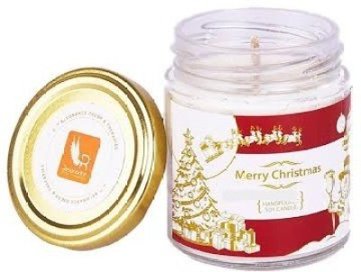 Resonance Merry Xmas Sugar Pumpkin Scented Aroma Natural Wax Candle
