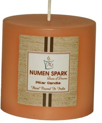 Numen Spark Vanilla Caramel Scented Pillar (3