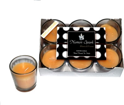 Numen Spark Vanilla Caramel Votive Candle (pack of 6)