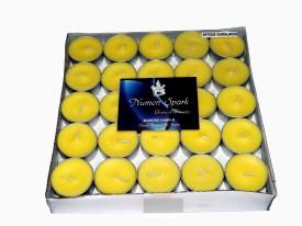 Numen Spark Antique Sandalwood Tea-Light Candle(Pack Of 50)