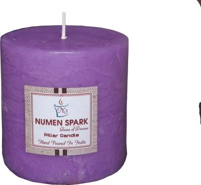 Numen Spark True Lavender-Vanilla Scented Pillar (3