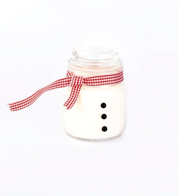 Resonance Snowman Christmas Cookie Aroma Scented Natural Wax Candle