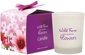 Wild Ferns New Zealand Flowers Candle