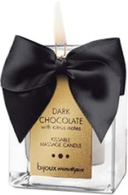 Bijoux Indiscrets - Dark Chocolate Massage Candle