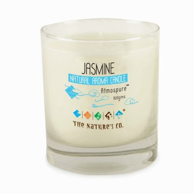 The Natures Co Jasmine Natural Aroma Candle