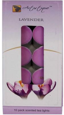 Artistique 10 Pack scented t-lights candle (Lavender)