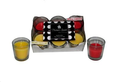 Numen Spark Apple Cheeks-Pacific Cocolime Dual-Scent Votive Candle