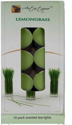 Artistique 10 Pack scented t-lights candle (Lemongrass)