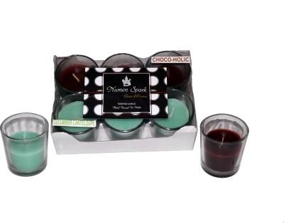 Numen Spark Cucumber Cantaloupe - Chocoholic Dual Scent Votive Candle (pack of 6)