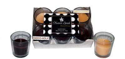Numen Spark Chocoholic-Vanilla Caramel Dual-Scent Votive Candle