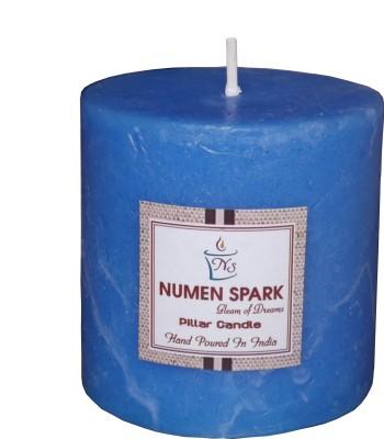 Numen Spark Ocean Blue Scented Pillar (3