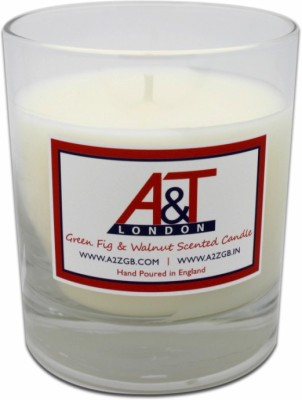 A&T London Green Fig And Walnut Scented Candle