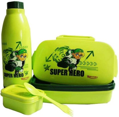 Rishabh Super Kid Fresh & Tasty Lunch Box School Set