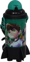 Cartoon Network Ben 10 350 ml Water Bottle(Set of 1, Green, Black)