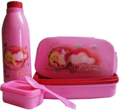 Rishabh Gorgious Princess Fresh & Tasty Lunch Box School Set